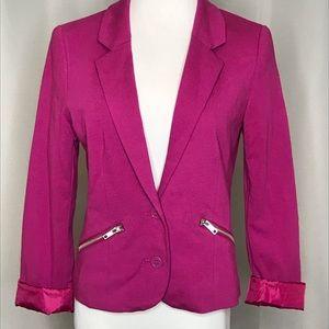H&M magenta blazer. (Runs small)NWT